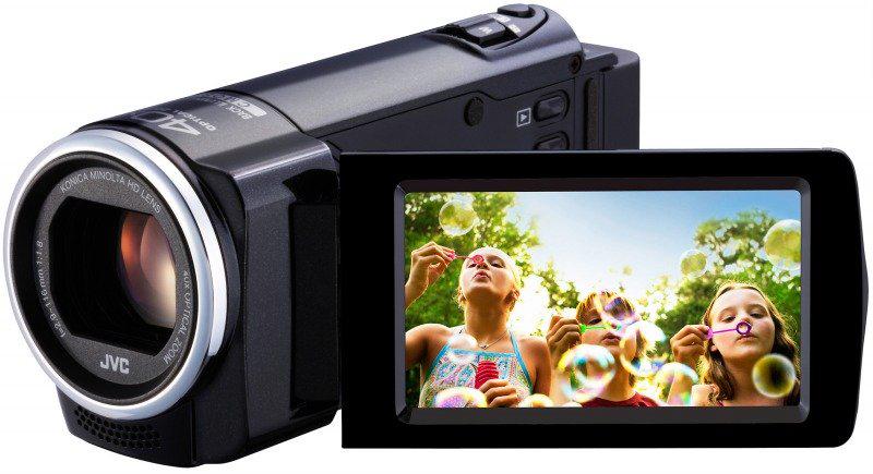 Caméscope numérique JVC Everio GZ-E15 Noir HD zoom opt x40