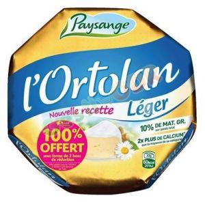 Fromage L'Ortolan léger 250g 100% remboursé (au lieu de 2,25€)