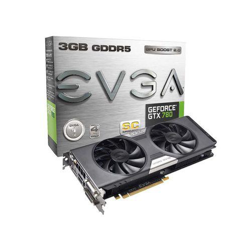 Carte graphique EVGA GeForce GTX 780 SC ACX Cooler 3 Go + Watch Dogs offert