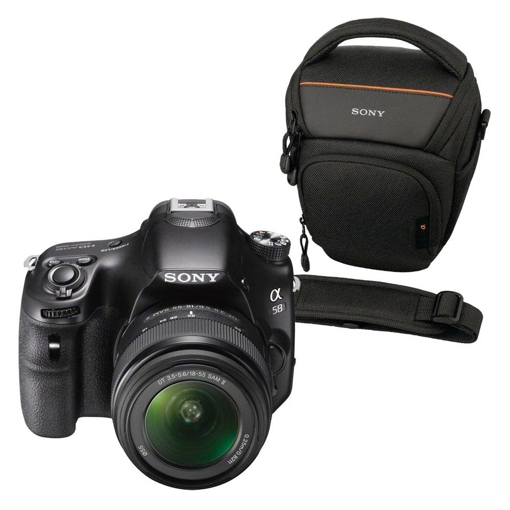 Reflex  Sony A58 + objectif 18-55mm + Sac + 8Go
