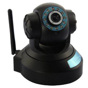 Caméra de Surveillance IP WiFi motorisée DDNS IR