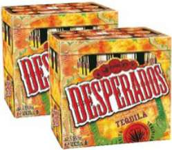 2 packs de Desperados 12*33cl