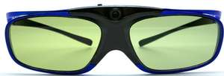 Lot de 2 paires de lunettes 3D Hi-shock pour Vidéoprojecteur