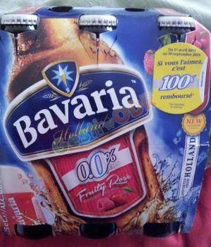 Pack de 6 bières Bavaria 100% remboursé