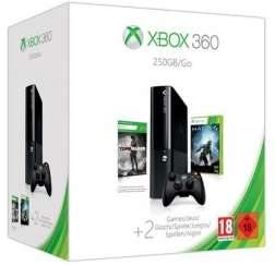 Console Xbox 360 250Go + Halo 4, Tomb Raider et Call Of Duty Ghosts