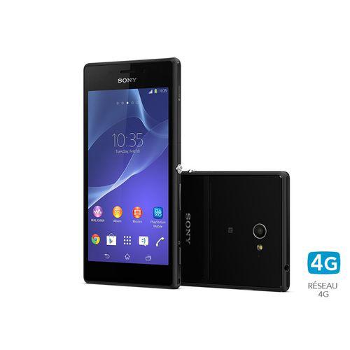"Smartphone Sony Xperia M2 Noir 4""8 4G (avec ODR exclusive 50€)"