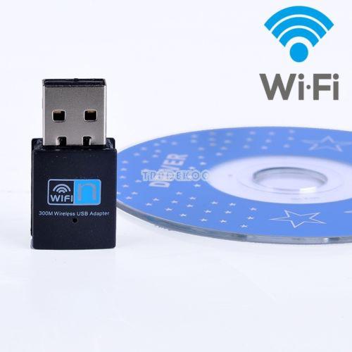 Dongle mini USB 2.0 Wifi 300mbps
