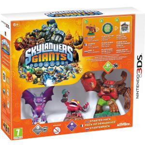 Jeu Nintendo 3DS Skylanders Giants Starter Pack  à 4.95€ port compris