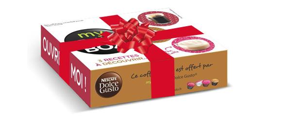 Coffret échantillons My Day Box Dolce Gusto gratuit