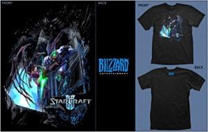 Starcraft II Wings of Liberty Battle T-shirt