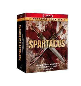 Coffret Blu Ray Spartacus (Préquelle + 2 premières saisons)