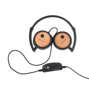 Casque avec réduction de bruit Tivoli Audio Radio Silenz avec oreillettes en bois (Autres déstockages en description)