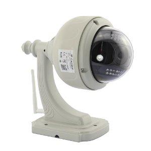 Camera IP wifi de sécurite dome motorisée avec vision nocturne et détection de mouvement