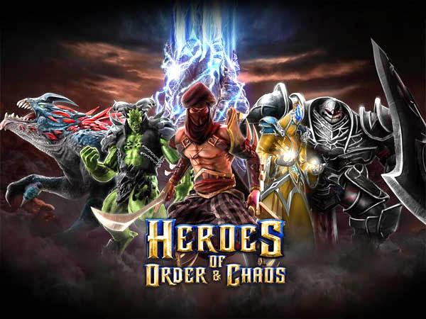 Heroes of Order & Chaos gratuit sur iOS (au lieu de 5,99€)