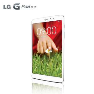 Tablette LG G Pad 8.3 16 Go - Blanche