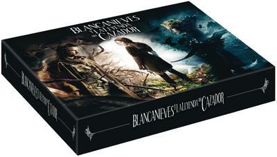 Blanche-Neige et le chasseur (édition Blu-Ray + DVD + Copie digital) + Livre