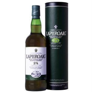 Whisky single Malt Laphroaig 18 ans 70cl