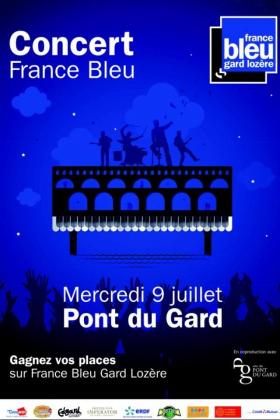 Pont du Gard : Concert gratuit Christophe Mae, Yannick Noah, Ben l'Oncle Soul