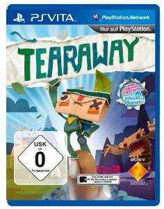 Tearaway sur PS Vita / Port inclus