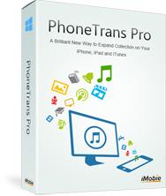 PhoneTrans Pro : Logiciel de transfert de musiques et vidéo depuis/vers un iPhone, iPad... gratuit sur PC