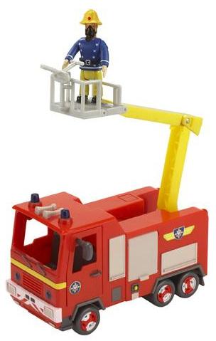 Jouet Camion de pompiers Jupiter Sam le pompier Ouaps