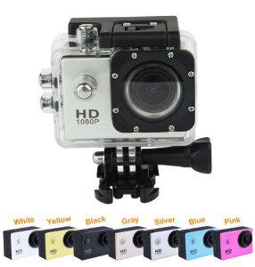 Caméra Waterproof SJ4000 1080p 12 Mpx + Plusieurs accessoires