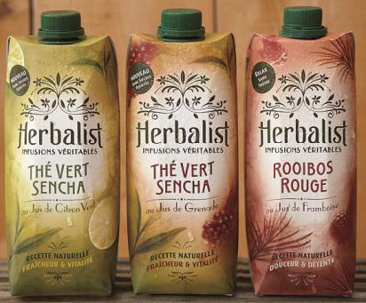 Herbalist Infusions Véritables 100% remboursé via shopmium (au lieu de 3€)