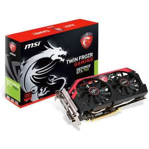 Carte Graphique MSI Nvidia GTX760 Twin Frozr 4 2GD5/OC - 2048 GDDR5