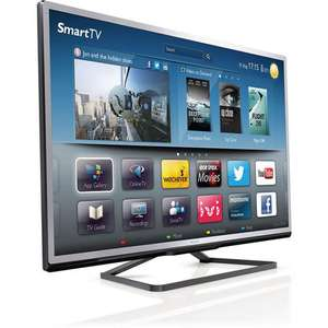 "TV LED Philips 55"" - Smart TV 3D 55PFL4528H/12"