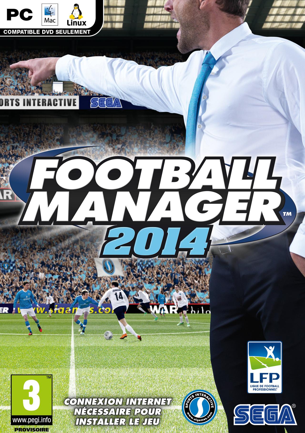 Jeu PC Football Manager 2014 (dématérialisé)