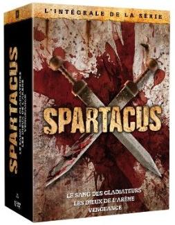 Coffret DVD Spartacus (Préquelle + 2 premières saisons)
