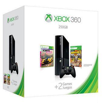 Console Xbox 360 250 Go Microsoft + Forza Horizon + Borderlands 2
