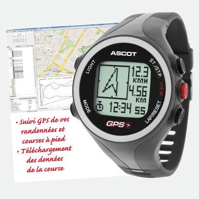 Montre GPS avec tensiomètre