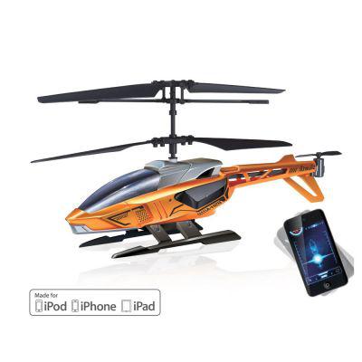 Hélicoptère radiocommandé Silverlit Blu-Tech Heli (3 voies/gyro), contrôlé via un iPhone, iPad... / Port inclus