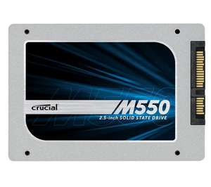 """SSD Crucial M550 1To - 7mm Sata 3 - 2.5"""" 550 Mo/s 90000 IOPS"""