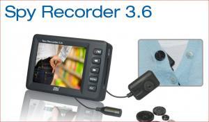 Dnt - SpyRecorder 3.6 - Mini caméra bouton numérique avec enregistreur