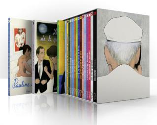 Coffret Blu-ray Eric Rohmer  Intégrale combo blu ray + livret + pochette photos  (France)
