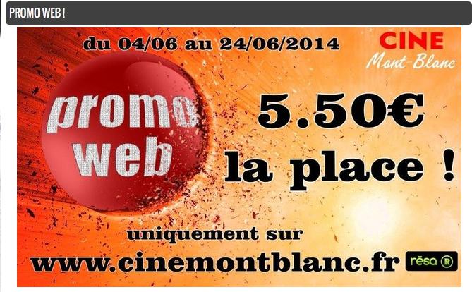 A partir du 04/06 : Place de cinéma