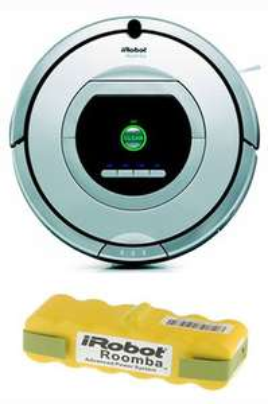 Aspirateur robot iRobot Roomba 765 PET + Batterie supplémentaire (Avec ODR de 70€)