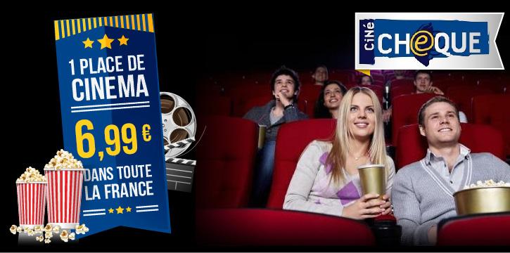 1 Place de cinéma (600 salles disponibles)