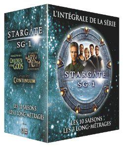 Coffret DVD Intégrale Stargate SG1 + 3 films