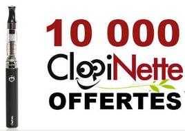 Cigarette électronique ClopiBoost gratuite