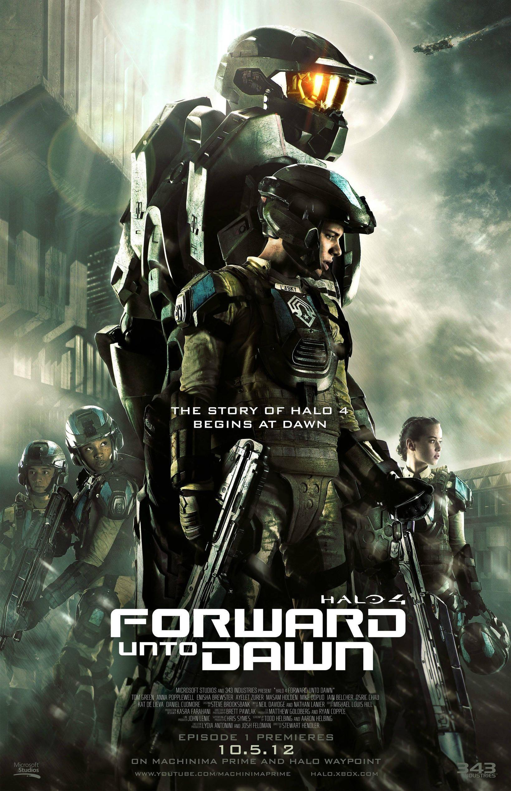 Halo 4: Forward Unto Dawn gratuit sur XBOX Video