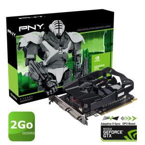 Carte graphique PNY GTX 750 Ti 2Go GDDR5 + Credit de jeux offert