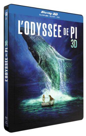 Blu-ray 3D SteelBook - L'Odyssée de Pi