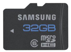 Carte Micro SDHC Samsung 32Go - class 6