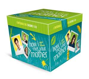 Coffret DVD How I Met Your Mother - L'intégrale des saisons 1 à 8