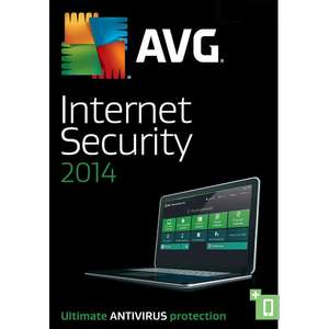 Avg Internet Security 2014 - Licence gratuite pendant 1 an