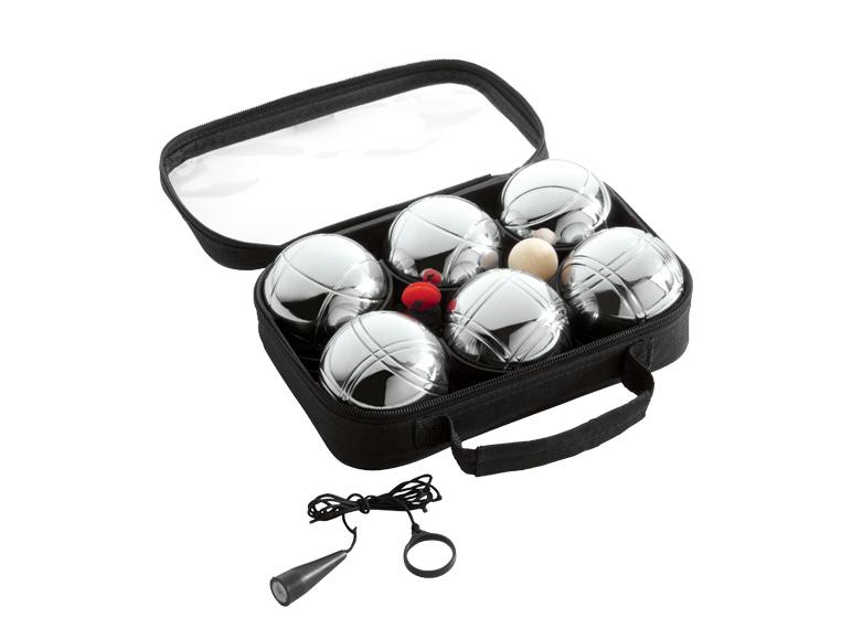Set de pétanque 6 boules Crivit (ou set Badminton 4 pers.)