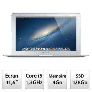 Apple MacBook Air 11' Editon 2013 - i5 à 1.3 GHz - 128Go de SSD